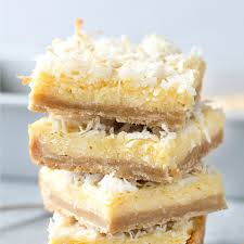 buttery coconut bars real housemoms