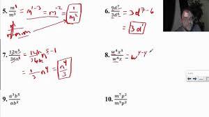 multiplication properties of exponents worksheet worksheets koogra