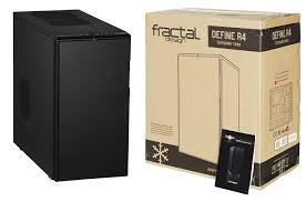 fractal design define r4 fractal design define r4 cases black pearl fd ca def