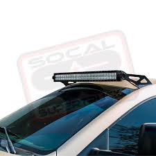 light bar roof mount brackets for 50