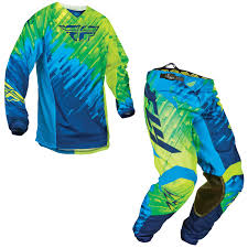 fly racing motocross fly racing 2015 kinetic glitch racewear enduro mx quad blue hi viz