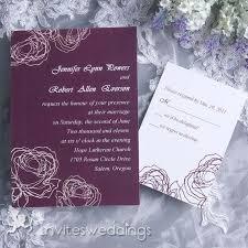 Purple And White Wedding Purple Wedding Cards Invitesweddings Com