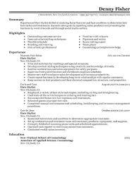 hairdresser resume examples resume peppapp