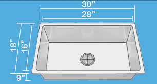 allora usa ksn 3018 r25 kitchen sink 30 x 18 x 9 undermount