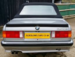 bmw e30 3 series 325 manual convertible rare factory mtech old