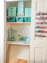 Organizing A Living Room by Organizing A Craft Closet Diy Show Off Diy Decorating And