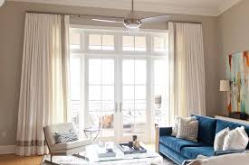 Blue And Grey Curtains White Curtains With Gray Trim Design Ideas
