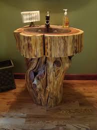 rustic cabin bathroom designcbedeae rustic log cabin bathroom