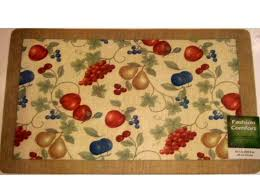 Fruit Kitchen Rugs Fruit Kitchen Rugs Fruit Kitchen Rug Orchard Apples Pears Grapes