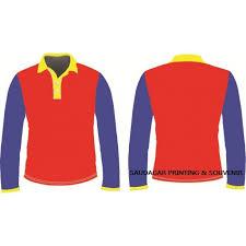 design t shirt paling cantik polo long sleeve design 1