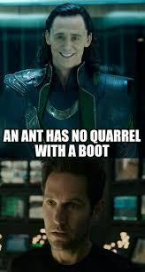 Green Man Meme - ant man loki meme by superkat5 on deviantart