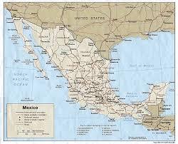 map of mexico yucatan region file yucatan