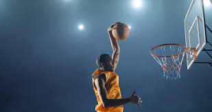 Basketball Courts With Lights Basketball Court Stock Footage Shutterstock