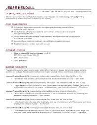 New Nurse Resume Examples by Lpn Resumes 22 Free Lpn Licensed Practical Nurse Resume Example
