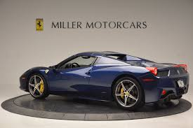 maserati ferrari 2014 ferrari 458 spider stock 4348 for sale near greenwich ct