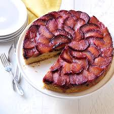 upside down cake with plums u2014 recipes hubs