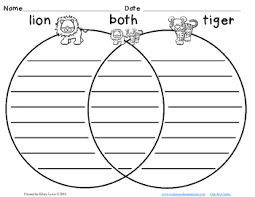 and contrast with venn diagrams use as literacy centers or worksheets