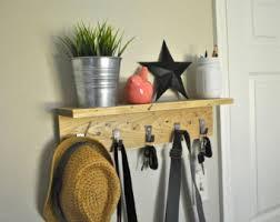 Shelf Hooks Entryway Entryway Shelf Etsy