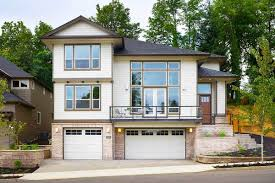 house plans for sloping lots in the rear for a front sloping lot 6924am architectural designs house plans