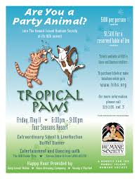 humane society black friday tropical paws hawaii island humane society event at the four