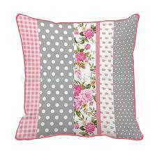 couture coussin canapé floral plaid couture impression personnalisée chaise coussin décor à