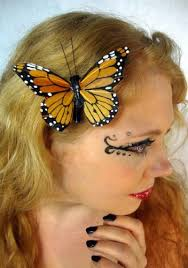 butterfly for hair large monarch butterfly hair clip beauty
