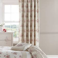 Rose Colored Curtains Floral Pencil Pleat Curtains In Rose Pink Dreams U0026 Drapes Elodi
