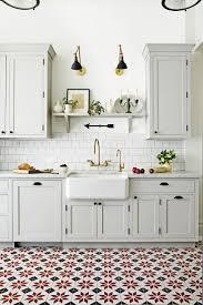 farmhouse island kitchen tile floors tiled shower floors island or peninsula in kitchen