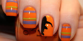 26 spooktacular halloween nail art ideas nail art easy halloween