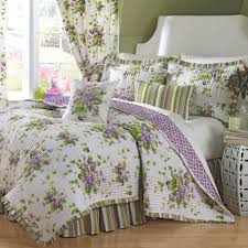 Jcpenney Bedspreads And Quilts Sweet Violets Floral Quilt Set Bedding By Waverly Bedrooms