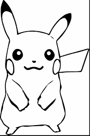 surprising pokemon pikachu coloring pictures with pikachu coloring