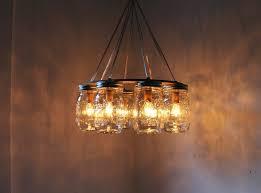 How To Mason Jar Chandelier Warm Mason Jar Chandelier U2014 Best Home Decor Ideas Simple Mason