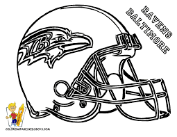 baltimore ravens coloring pages for kids download 9165