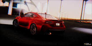 lexus rcf red lexus rc f for gta san andreas