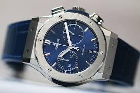 blue titanium bracelet hublot images Hublot classic fusion blue chronograph titanium vendre pour jpg
