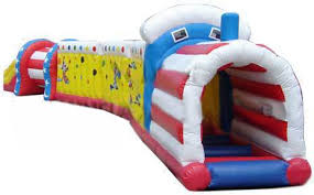 Backyard Inflatables Customized Backyard Inflatable Train Tunnel For Kids
