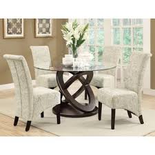 glass dining room table set glass kitchen dining room sets you ll wayfair