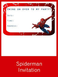 spiderman party set creative printables