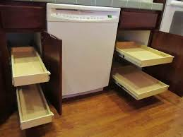 diy pull out drawer shelves for narrow kitchen cabinet ideas