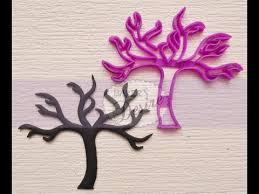 tree fondant cutter tutorial