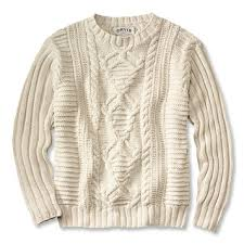 cable sweater mens crew neck sweaters cable knit aran sweater orvis