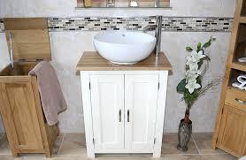 Slimline Vanity Units Bathroom Furniture White Painted Slimline Vanity Unit Ceramic Bathroom Basin