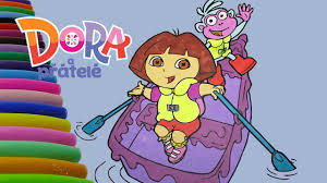 dora coloring book pages dora and friends boat coloring book dora coloring page for watch