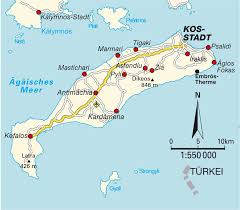 Map Greece by Island Map Kos Greece Maps And Directions At Map