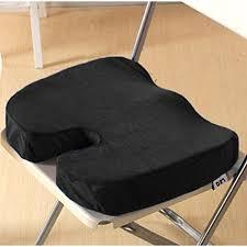 Memory Foam Chair Pad Memory Foam Car Seat Cushion Cover Velcromag