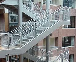 Steel Banister Rails Multiple Varieties Of Handrail Ideal Shield