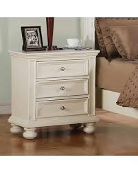 winter shopping deals on miami springs 3 drawer nightstand finish