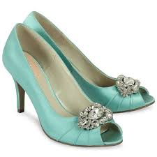 mint wedding shoes 22 best coloured satin bridesmaid shoes images on