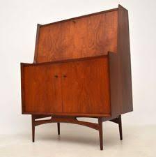 bureau retro teak writing bureau furniture ebay