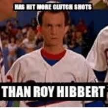 Roy Hibbert Memes - nasmit more clutch shots than roy hibbert meme on me me